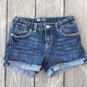 "EUC Levi's ""Shorty Short"" jeans shorts"